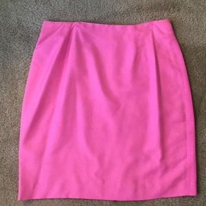 Dresses & Skirts - Pink Silk Skirt Size 12